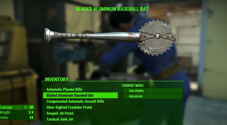 Fallout 4 Console PS4 MODS More that 700 Weapon MODS.png