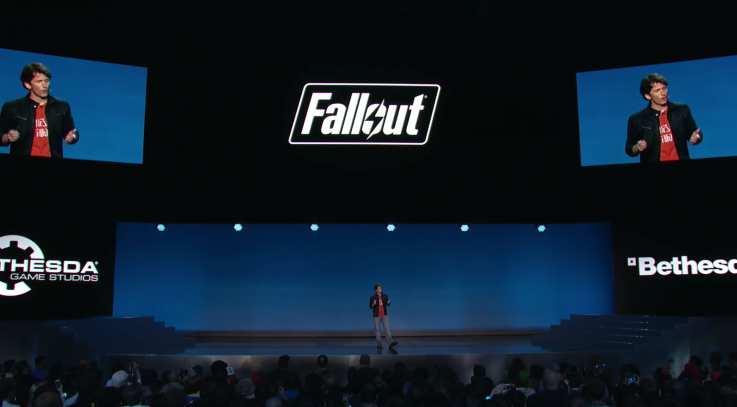 Fallout 4 at E3 event Showcase World Premiere-2