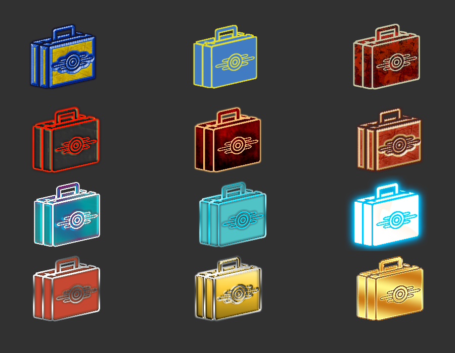 40 GECK ICONS TO CHOOSE FROM - Fallout 4 / FO4 mods
