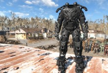 All Black Nano-Tech Power Armor Frame