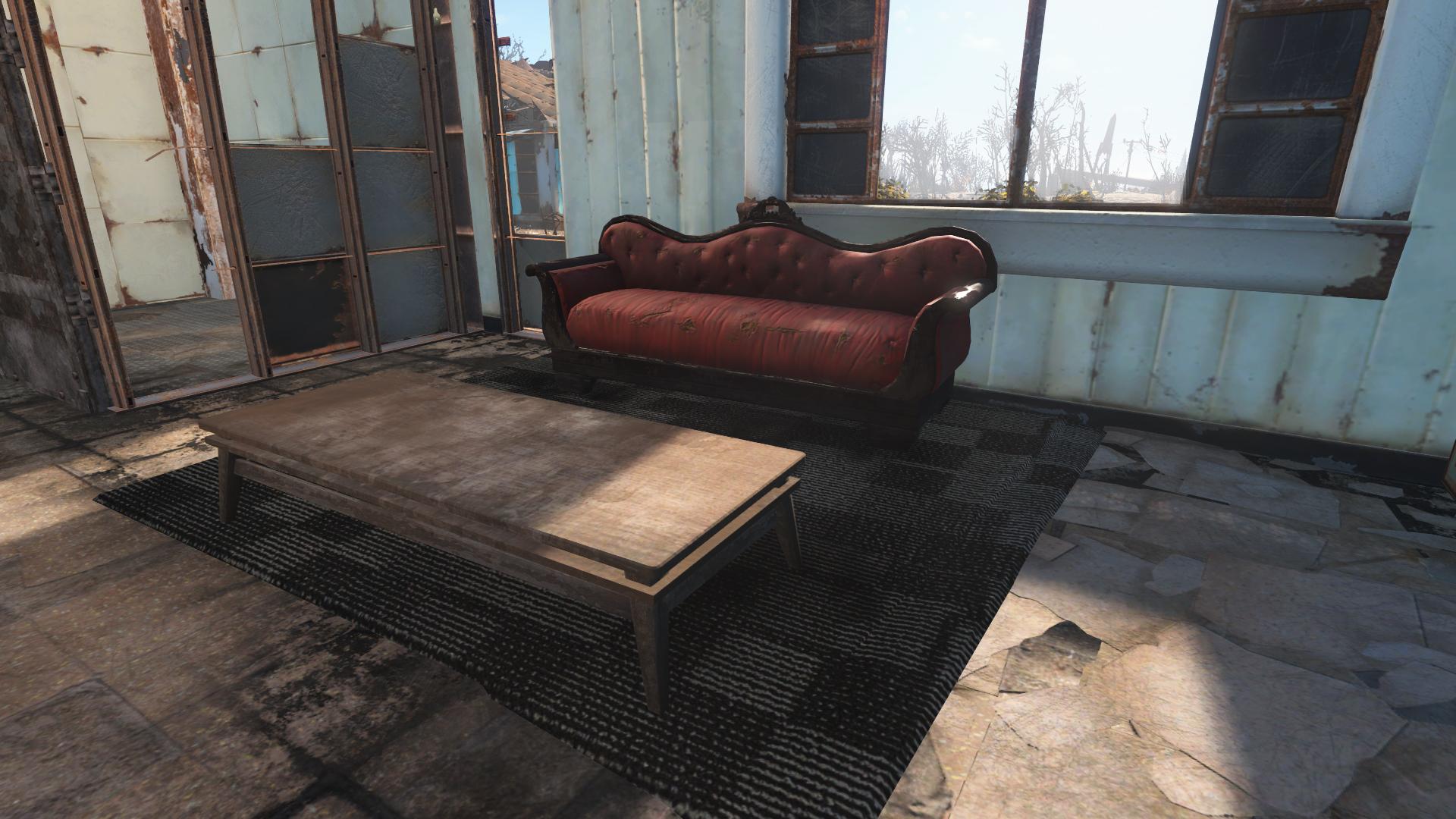 Alternative Rugs Fallout 4 Fo4 Mods