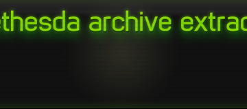 B.A.E. - Bethesda Archive Extractor by jonwd7 3