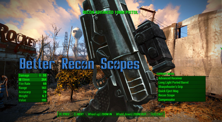 Better Recon Scope Retexture