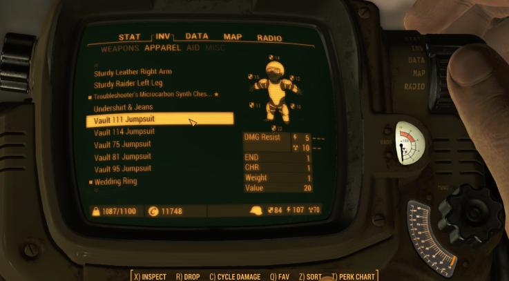 Better vault suits