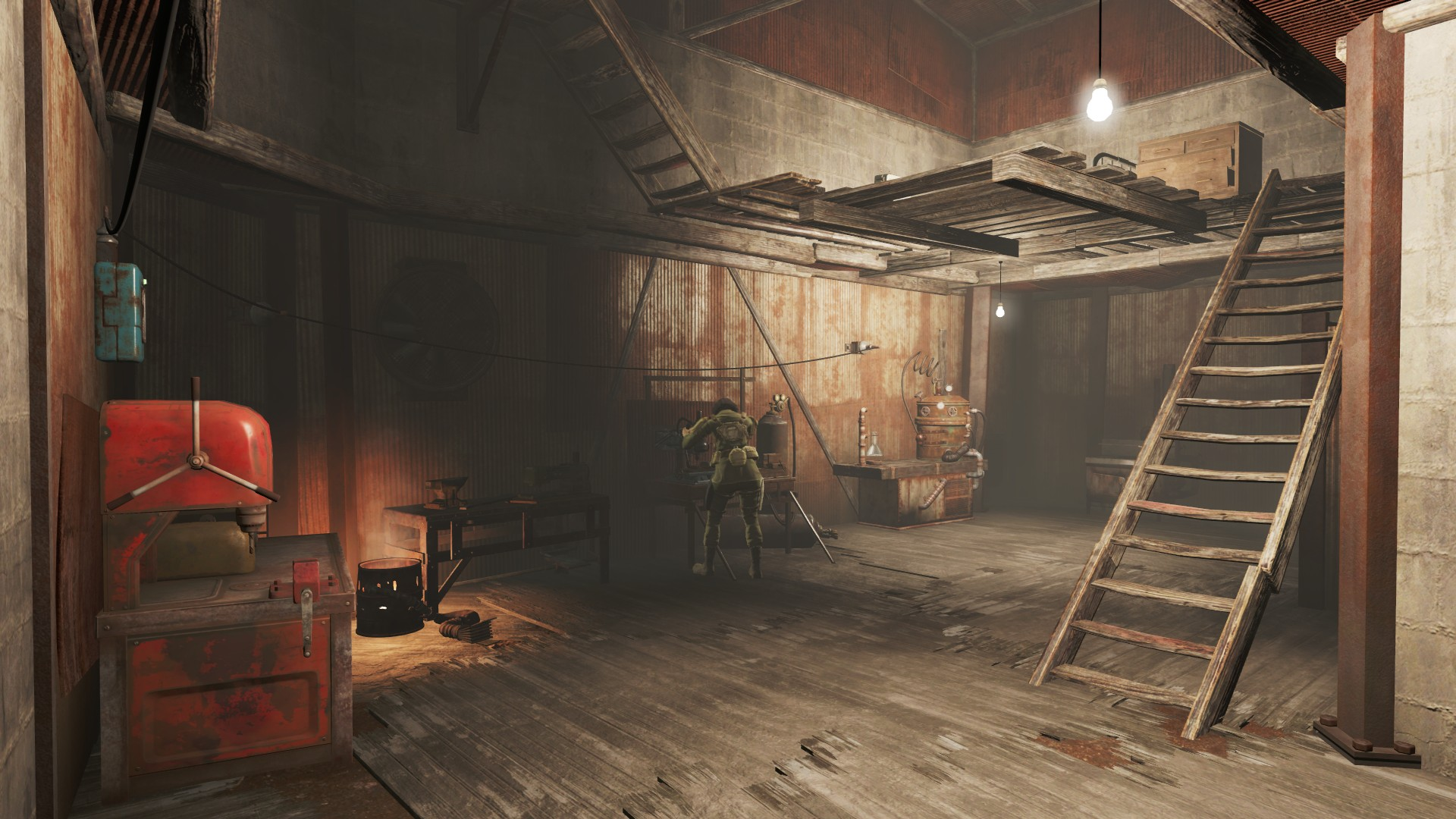 Build Crafting Stations In Player Home Fallout 4 Fo4 Mods