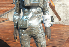 Chromed Hazmat Suit