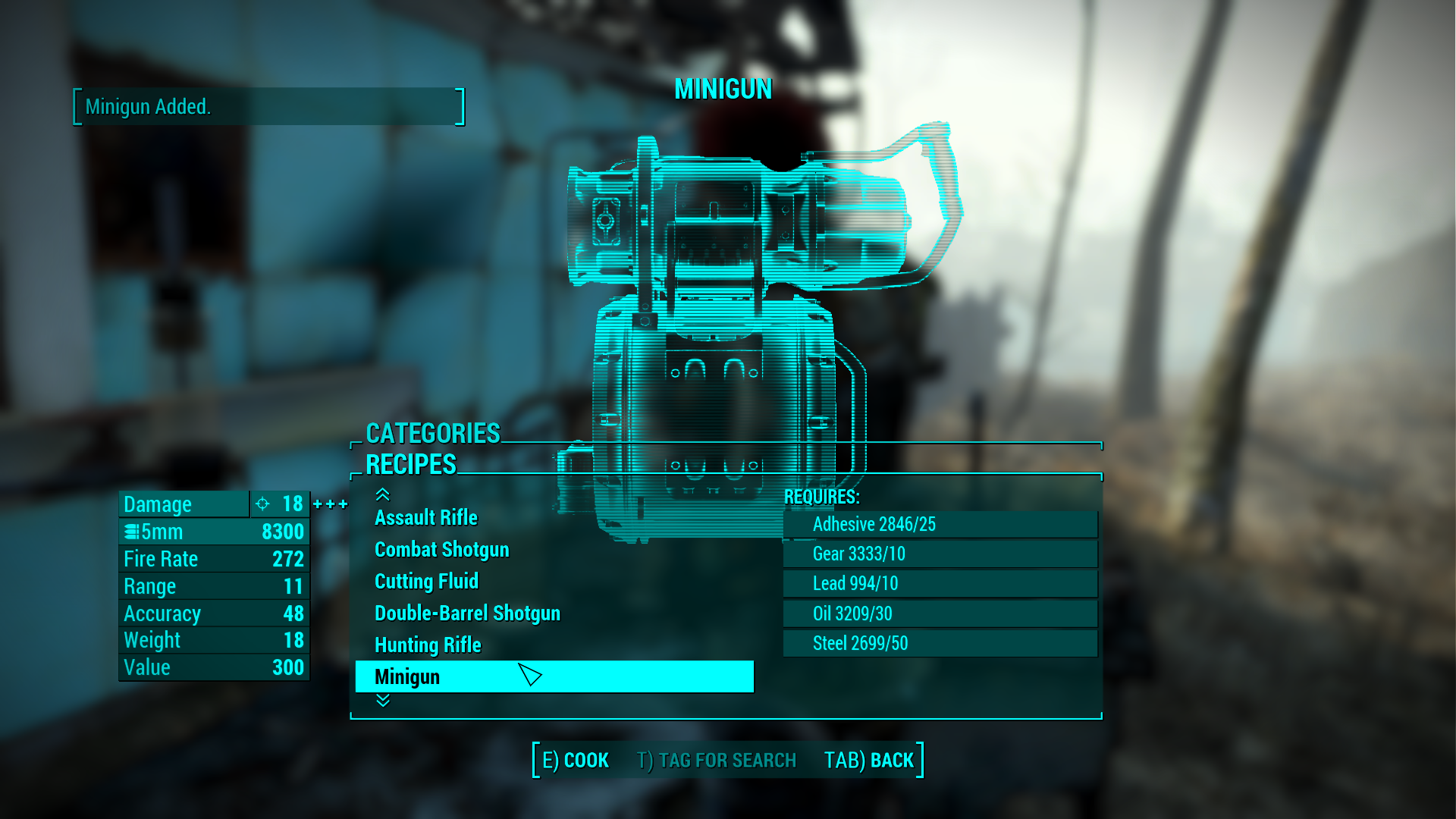 Craftable Guns And Weapons Fallout 4 Fo4 Mods