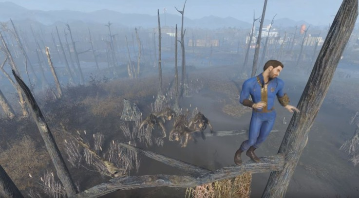 Dancing around The Wasteland - dancing animation