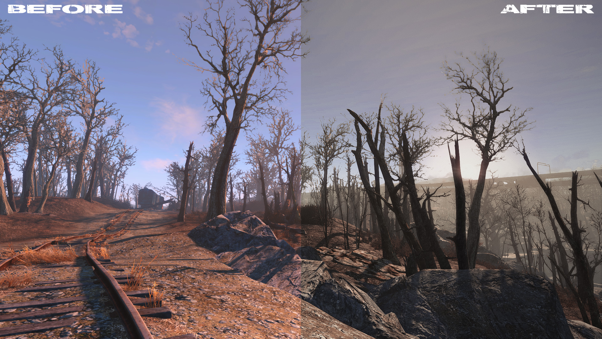 Decay - Reshade Preset - Fallout 4 / FO4 mods