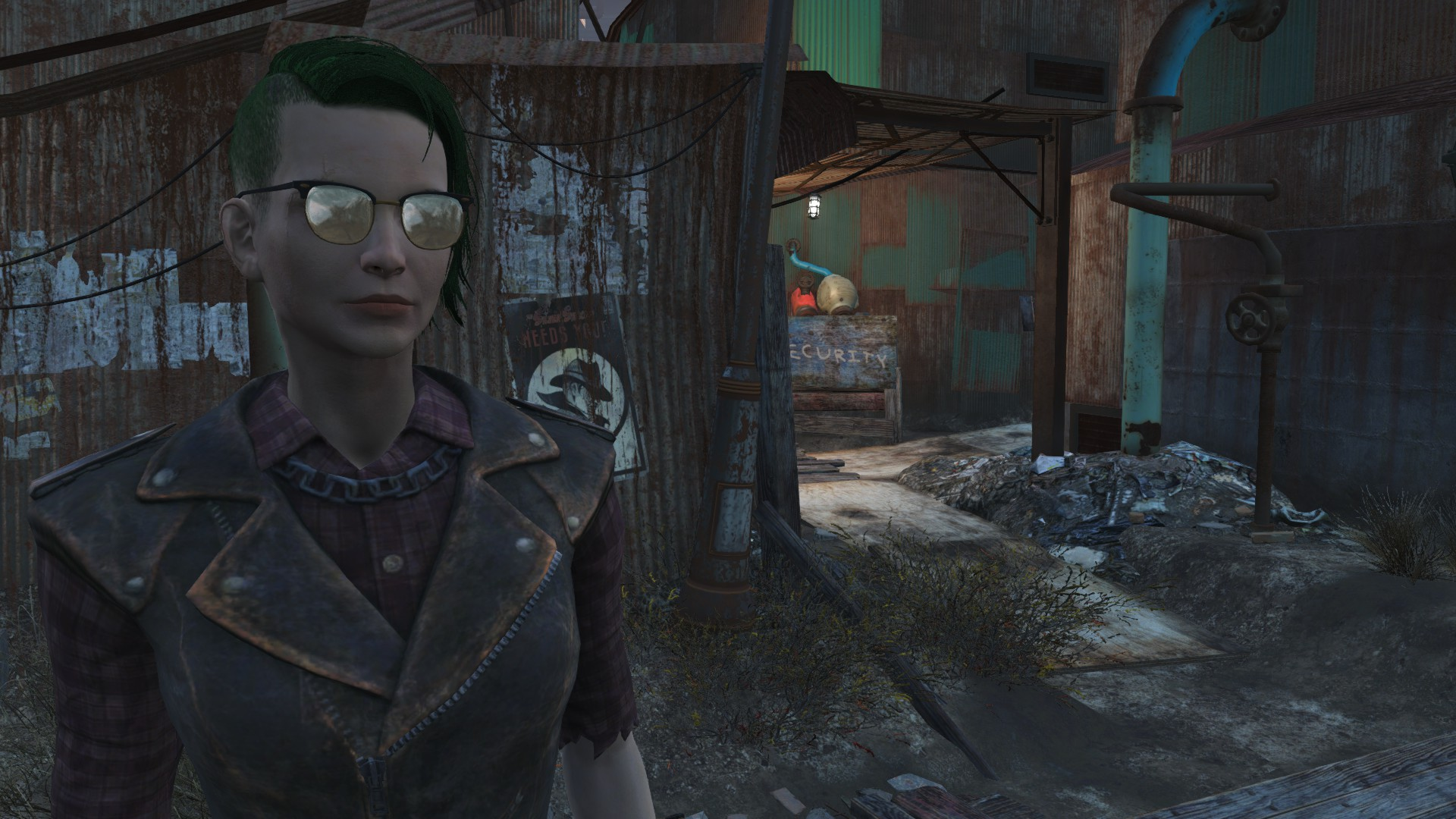 Dyed hair by sam hammarberg fallout 4 fo4 mods How to make your own house in fallout 3