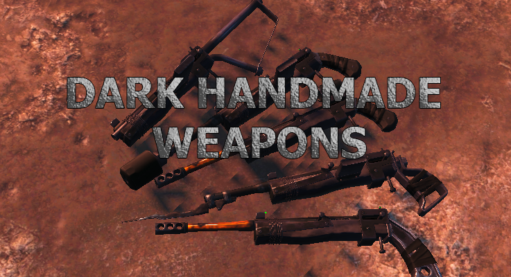 FO 4 Dark Handmade Weapons
