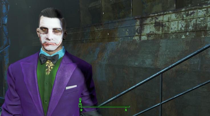 FO 4 The Joker Texture