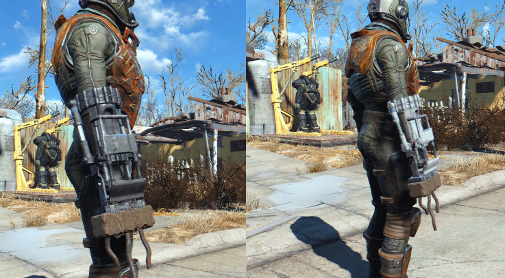 FO 4 White or Black Power Fist Retexture