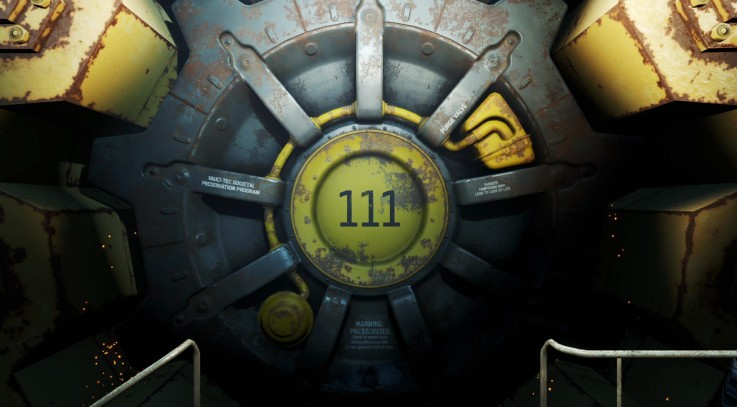 FO4 Level 50 at Vault 111