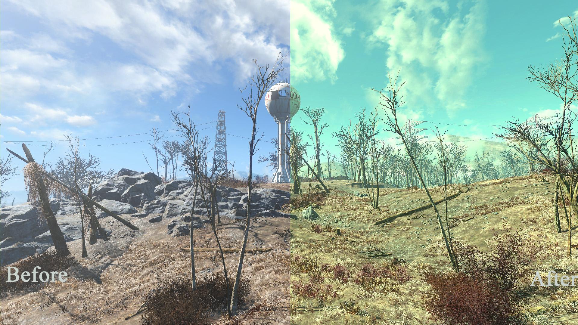 Fallout 3 Esque Mod - Fallout 4 / FO4 mods