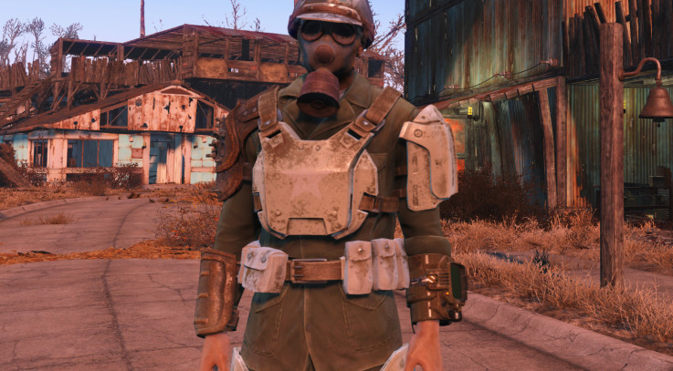 Fallout 4 Gas Mask Hat Fix