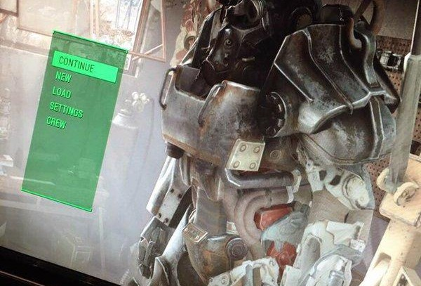 Fallout 4 Menu Screen was leaked