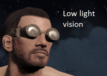 Fallout 4 Night vision goggles