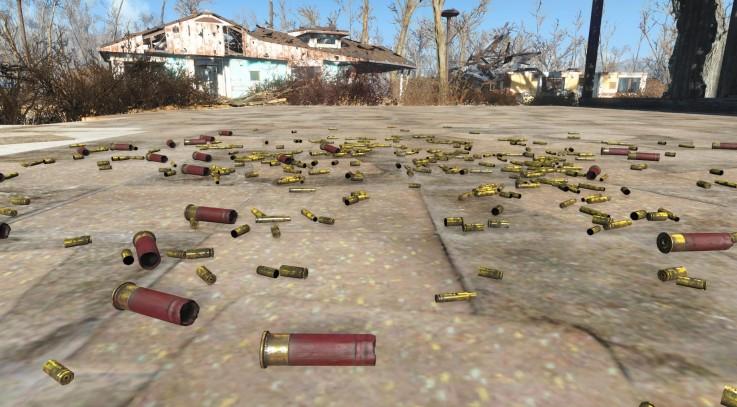 Fallout 4 Shell Rain