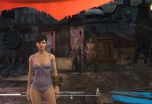 Fallout 4 Swimsuit Instead of Underwear 2
