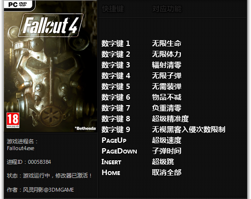 Fallout 4 Trainer (+12) 1.01