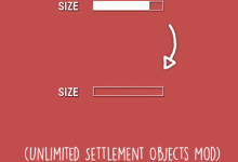 Fallout 4 Unlimited Settlement Objects