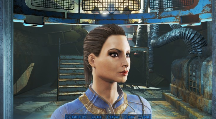 Fallout 4 Valkyrie character 1