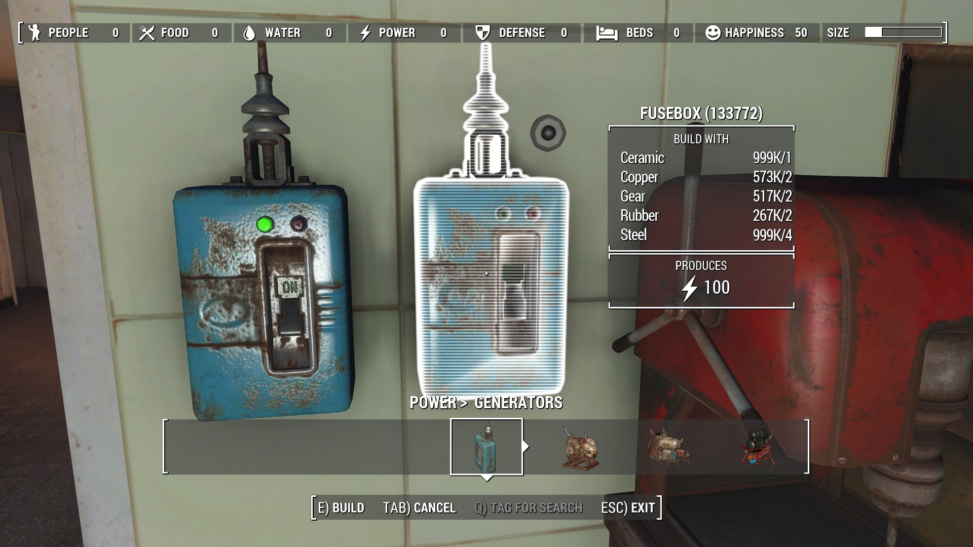 Generator Fusebox generator fusebox fallout 4 fo4 mods fallout 4 fuse box at aneh.co