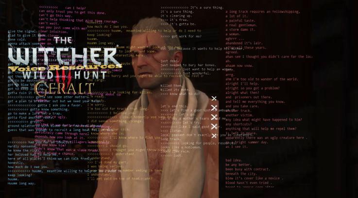 Geralt The Witcher Voice Resources-1
