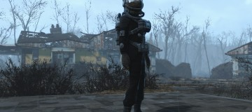 Grey and Black Hazmat Suit - Retexture - 2