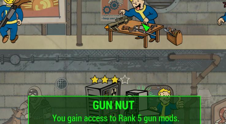 Gun Nut Rank 5