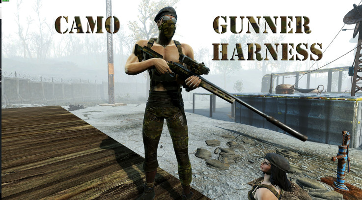 Gunner Harness RETEX CAMO
