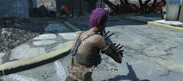 Hair Dye Mod - Separate hair and eyebrows color 3