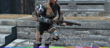 Hair Dye Mod - Separate hair and eyebrows color 4