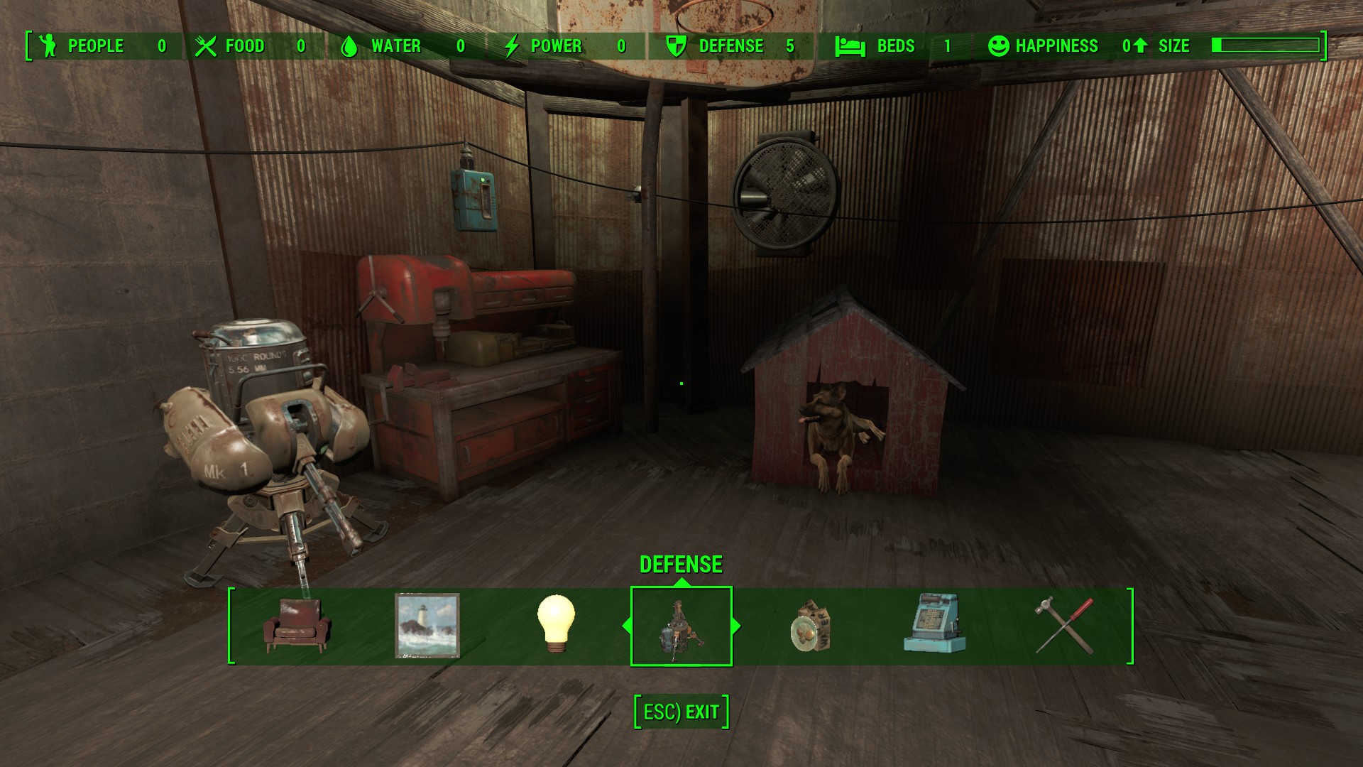 Home Plate Full Workbench Fallout 4 Fo4 Mods