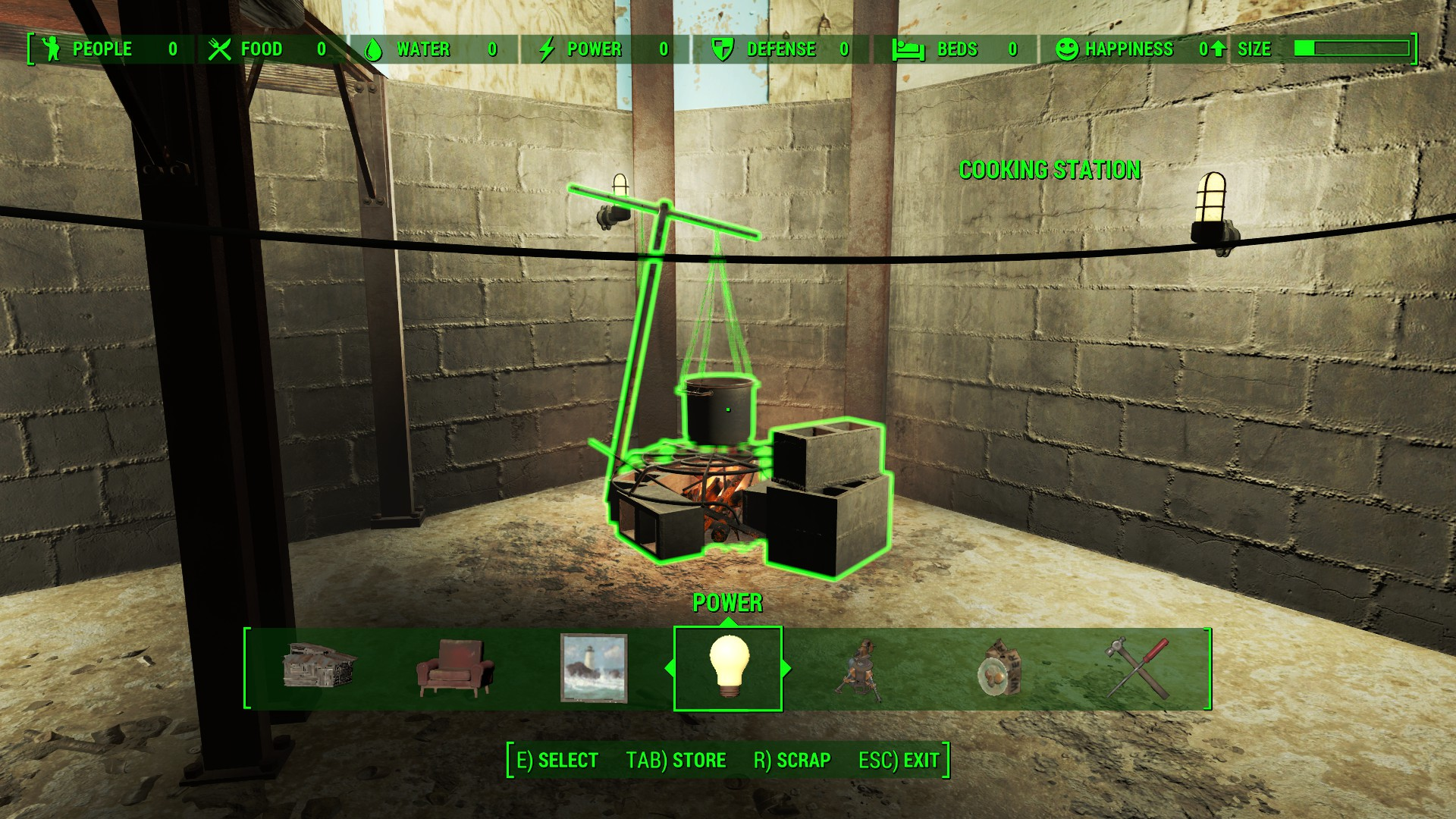 home plate complete build menu from workshop fallout 4 fo4 mods