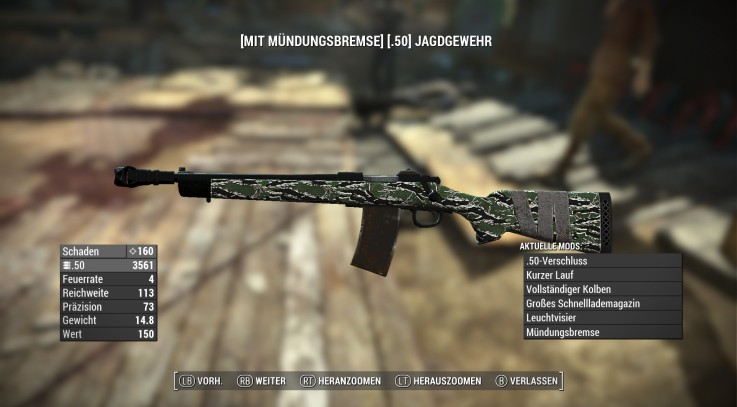 Hunting Rifle Tigercamo Huntingriflestock 3