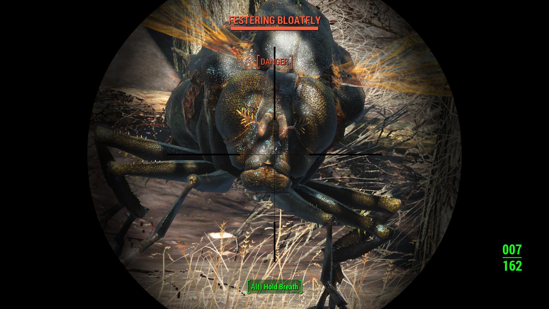 how to kill the legendary bloatfly