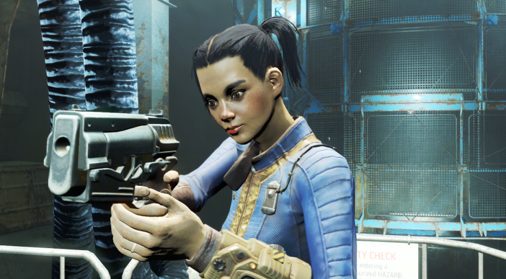 Keira at Fallout 4
