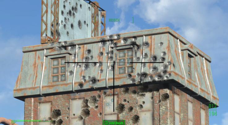 Long Range Bullet Holes