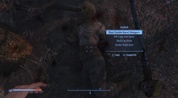 Lootable Corpse Bones