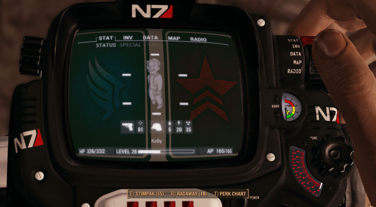 Mass Effect N7 PipBoy