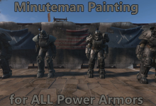 Minuteman Painting for ALL Power Armors