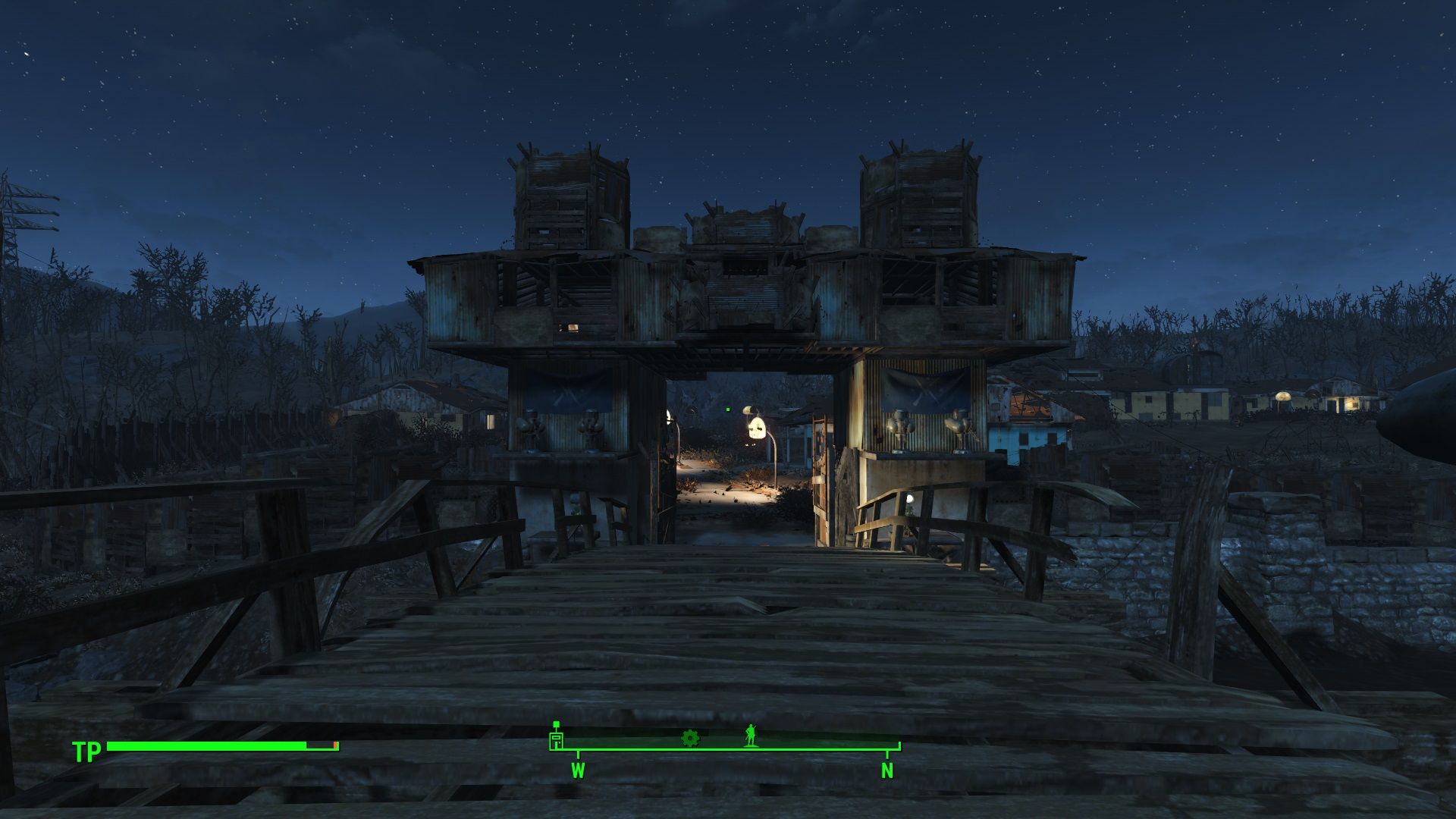 Fallout 4 Wall Light Not Working : My Sanctuary Hills with Defense Wall DIY Street Lights and more SAVEGAME - Fallout 4 / FO4 mods