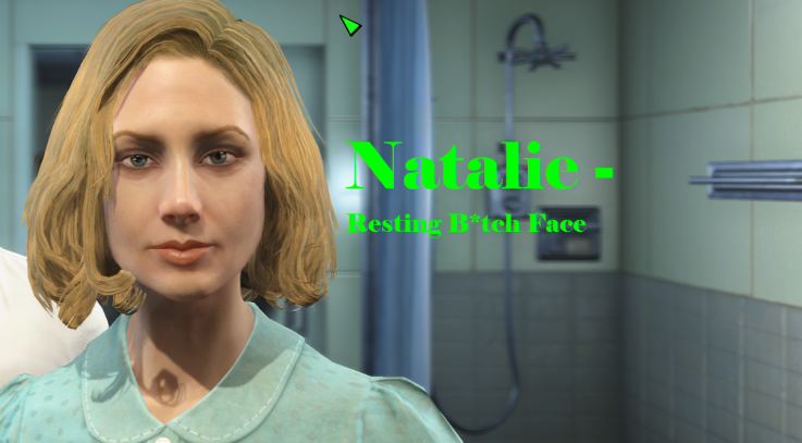 Natalie- Resting B1tch Face