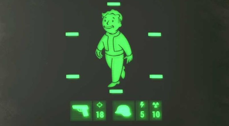 No Blur effect and less scanlines on Pipboy and Terminal Hud