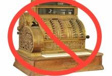 No more cash register sound