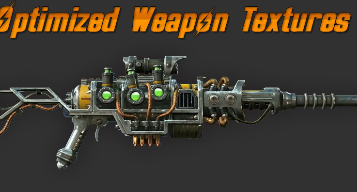 Optimized Weapon Textures