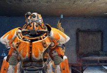 Orange Power Armor Paint - Nuka-cola Victory Orange 1