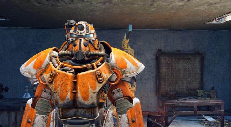 Orange Power Armor Paint - Nuka-cola Victory Orange 1